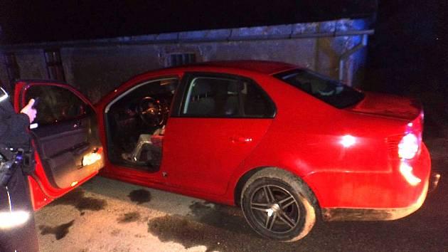 Policisté sedmapadesátiletou ženu zastavili ve Smržovicích.