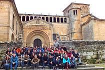 Účastníci setkání poznávali společně historii Kantábrie.