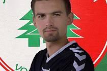 Fotbalista Ondřej Černý.