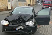 Dopravní nehoda ve Staňkově.