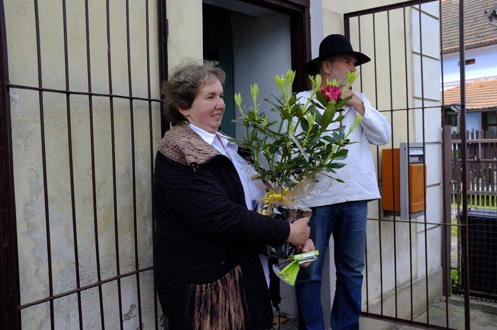 Otevření Galerie drátenictví v Ostromeči.