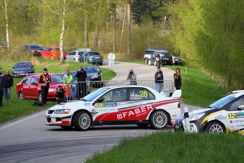 Marcel Tuček – Petr Dufek (Mitsubishi Lancer Evo IX): I vinou přibrždění nepříjemným defektem na rychlostní zkoušce nedosáhla domažlicko-trhanovská posádka na vítězství ve třídě 3 Rallye Šumava. Celkově dokončili soutěž na 32. místě a druzí ve třídě za Ma