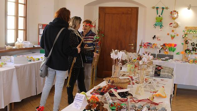 Jarní prodejní výstava v Horšovském Týně.