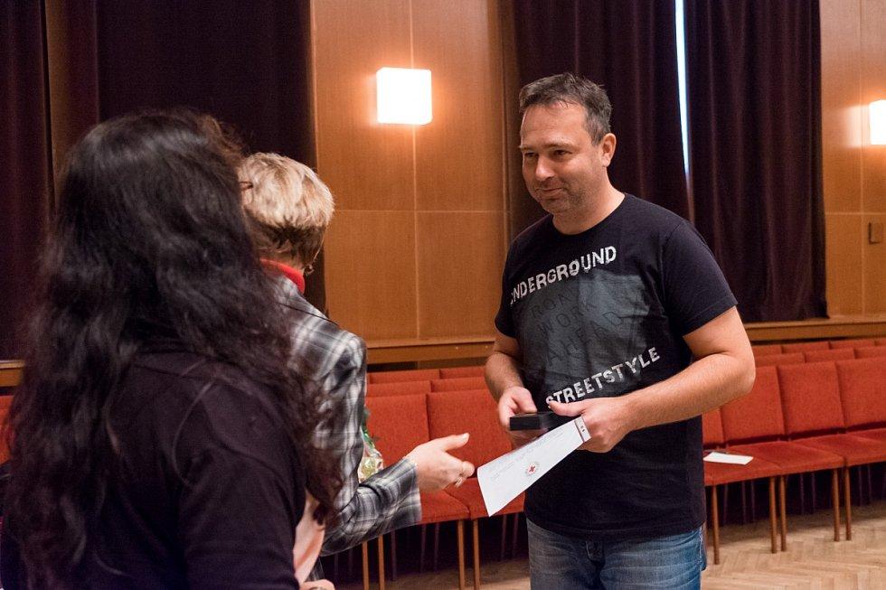 Ve Staňkově ocenili dárce krve.