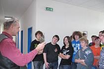 Exkurze do firmy Wuppermann kovotechnika se zúčastnili i žáci ze Základní školy Staňkov.