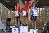 Dorostenec Davidík z Baníku Stříbro se stal mistrem České republiky v přespolním běhu.