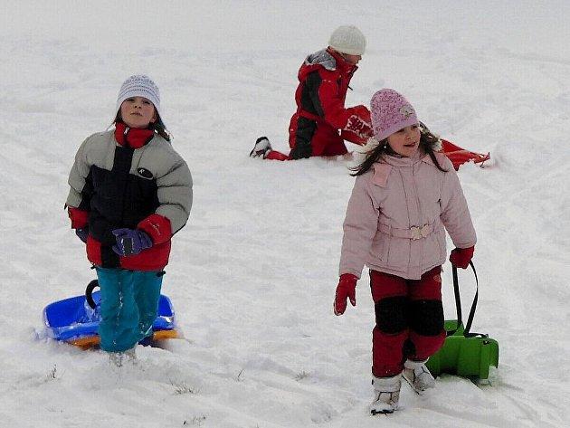 Druhá lednová sobota přilákala do Capartic spoustu lidí.
