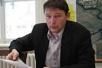 Místostarosta Horšovského Týna Václav Mothejzík.