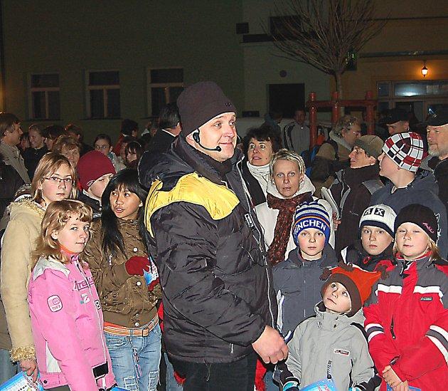 Pavel Morysek pomáhal zpěvákům v Bělé překonat rekord.