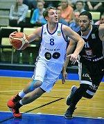 Domažlický rodák, basketbalista Jan Kozina.
