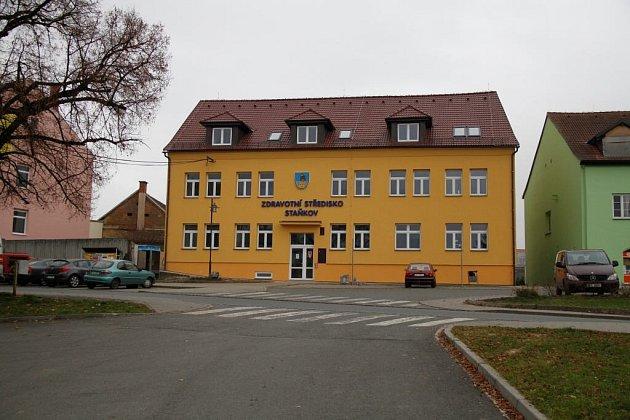 Zdravotní středisko ve Staňkově.