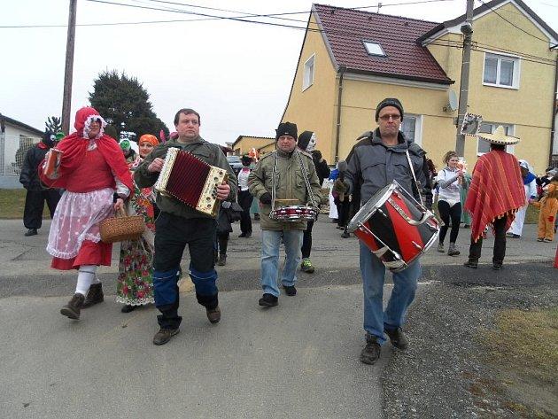 Masopust 2015 v Čermné.
