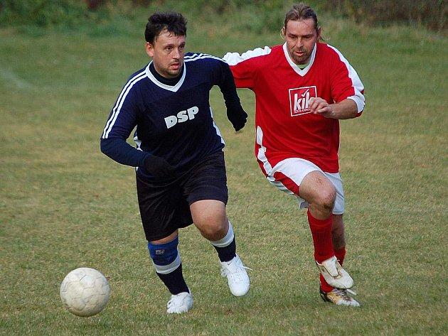 Liga seniorů - Utkání Hostouně s SG Chudenice.