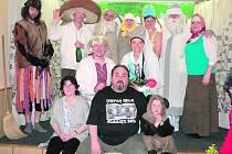 Křenovští ochotníci sehráli Mrazíka.