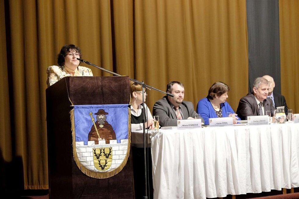Setkání starostů s krajskými radními ve Staňkově.