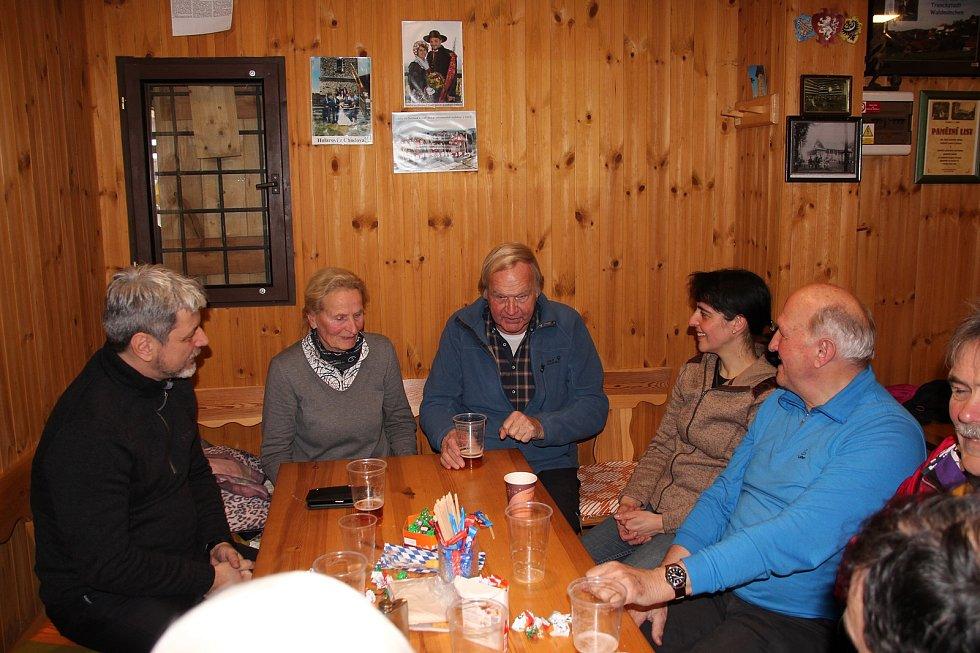 Vycházka na Čerchov je tradicí.