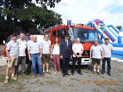 SDH Drahotín oslavil své jubilejní výročí v sobotu 14. července.