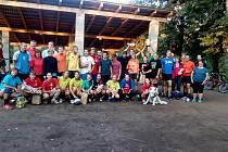 Účastníci volejbalového klání v Horní Kamenici.