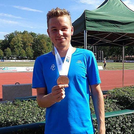 Atlet Martin Pivoňka.