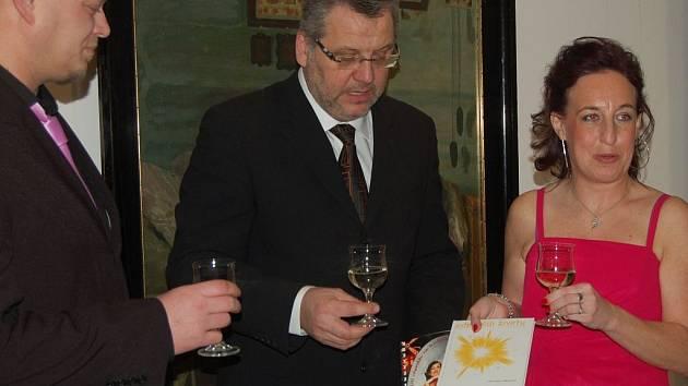 Křest nových knih Veroniky Němcové.