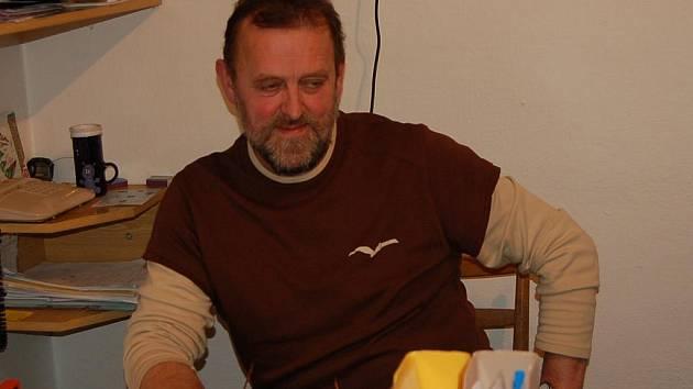 Starosta Němčic Zdeněk Bosák.