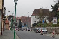 Plzeňská ulice v Horšovském Týně.