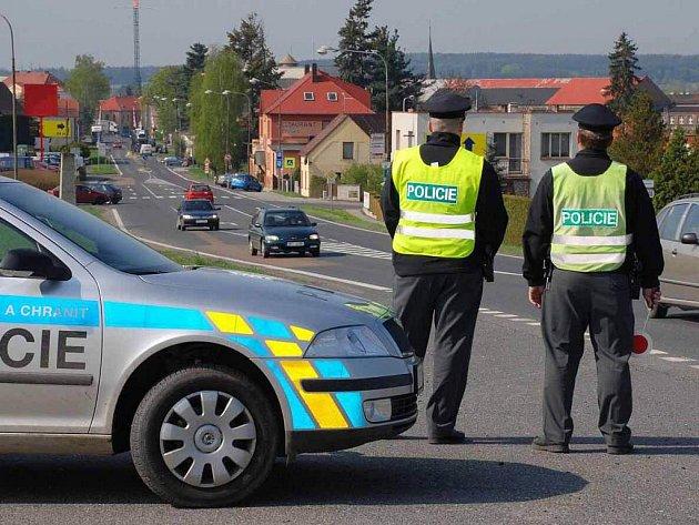 Ilustrační snímek - Policejní kontrola.