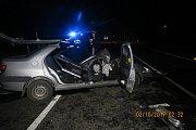 Nehoda u Meclova zablokovala silnici na čtyři hodiny