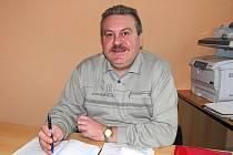 VLASTIMIL ANDERLE. V čele obce Díly je jako neuvolněný starosta druhé volební období.