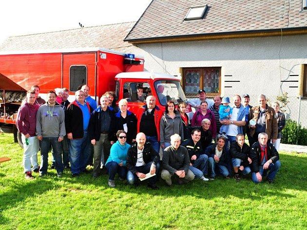 Návštěva tlumačovských hasičů v Tlumačově.