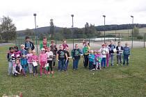 Libkovští pořádali sportovní odpoledne.