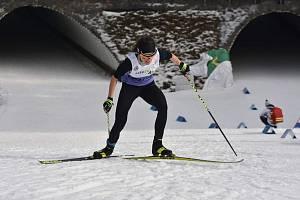 Luděk Šeller v letošní sezoně hájí barvy Sport Clubu a zjevně mu to svědčí. Z MČR dovezl stříbro ve sprintu.