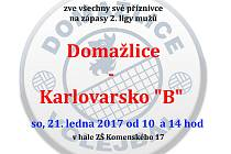 Pozvánka na sobotní zápasy volejbalistů Domažlic.