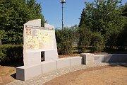 Ze slavnostního předání úprav u Baldovského památníku