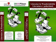 LITERATURA V POHORKÁCH. Pochod spisovatelů z obou zemí doprovází brožurka.