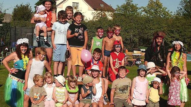 Rozloučení s prázdninami v Němčicích u Kdyně.