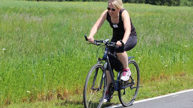 Výlety na kole jsou oblíbené.