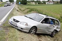 Nehoda mezi obcemi Staňkov a Křenovy.
