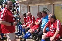 Do Bělé zavítá v neděli 20. září tým složený z hvězd šoubyznysu a fotbalových internacionálů.