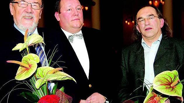 Zdeněk Šmíd (vlevo) se narodil v Kdyni.