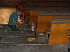 KINO ČAKAN. Domažlické kino fungovalo od roku 1969. V minulém roce bylo uzavřeno z důvodu stavebních úprav a digitalizace.