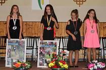 V Postřekově ocenili nejlepší mládežnické běžce v rámci Junior Běžce Chodska. Závodníkem roku se stala Jana Kozáková.