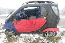 Nehoda u Svržna.