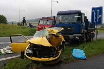 Tragická nehoda u Kdyně.