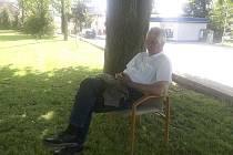 Spisovatel Bernhard Setzwein, autor románu Der böhmische Samurai, navštívil ve středu Poběžovice