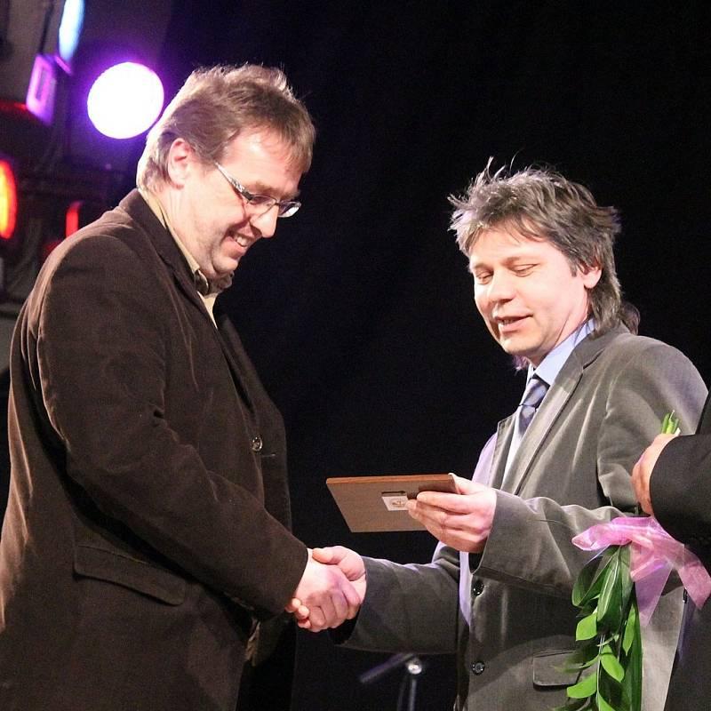 Z vyhlášení Sportovce Domažlicka za rok 2012 ve Staňkově.