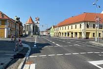 Hotovo. Průtah Horšovským Týnem pojede od víkendu bez omezení.