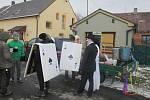 Masopust probíhal v sobotu také v Nevolicích a ve Stráži