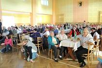 Setkání důchodců ve Všerubech.