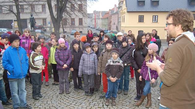 Skautská hra Mafie 2014 v Domažlicích.
